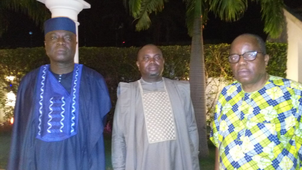 Maires de Cové et Abomey
