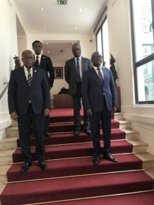 EFOB Ambassade Bénin Paris Eusèbe Agbangla