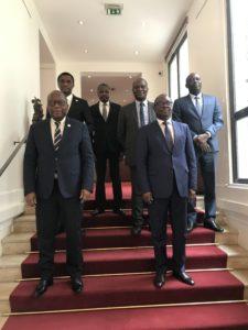 EFOB reçu en audience par SEM l'Ambassadeur du Bénin à PARIS